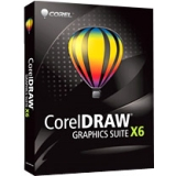 Corel CorelDRAW Graphics Suite v.X6 - Complete Product - 1 User - Graphics/Designing - Standard Mini Box Retail - PC - English