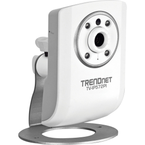 TRENDnet TV-IP572PI Network Camera - Color, Monochrome - Board Mount - CMOS - Cable - Wi-Fi - Fast Ethernet