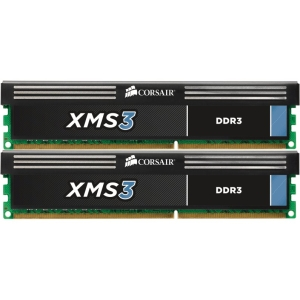 Corsair 16GB DDR3 SDRAM Memory Module - 16 GB (2 x 8 GB) - DDR3 SDRAM - 1333 MHz - Unbuffered - 240-pin - DIMM