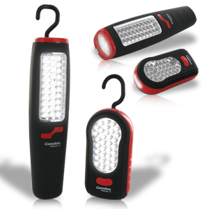 Camelion Double Pack - 37 &amp; 36 LED Deluxe Worklights with Magnets &amp; Hook