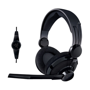 Razer RZ04-00270100-R3U1 Carcharias Headset - Stereo - Black - Mini-phone - Wired - 32 Ohm - 20 Hz - 20 kHz - Over-the-head - Binaural - Ear-cup