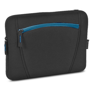 "Targus Neoprene 16"" Slipcase with Accessory Pocket TSS12802US with Blue Accents"