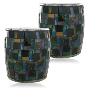 Westinghouse Large Solar Mosaic Table Top Lights (2 Piece)