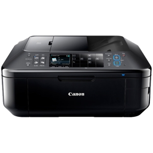 Canon PIXMA MX892 Inkjet Multifunction Printer - Color - Photo Print - Desktop - Printer, Scanner, Copier, Fax - 12.5 ipm Mono/9.3 ipm Color Print (ISO) - 20 Second Photo - 9600 x 2400 dpi Print ipm Mono/7.4 ipm Color Copy (ISO) LCD - 2400 dpi Optical Sca