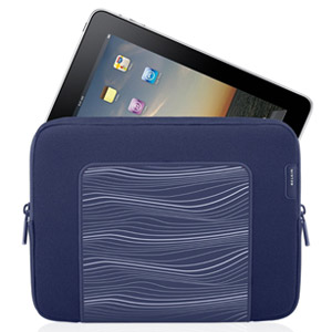 Belkin Grip Ergo Sleeve for iPads &amp; Tablets - Indigo Blue - F8N278TT132