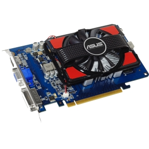 Asus GT630-2GD3 GeForce GT 630 Graphic Card - 810 MHz Core - 2 GB DDR3 SDRAM - PCI Express 2.0 x16 - 1820 MHz Memory Clock - 2560 x 1600 - Fan Cooler - DirectX 11.0 - HDMI - DVI - VGA