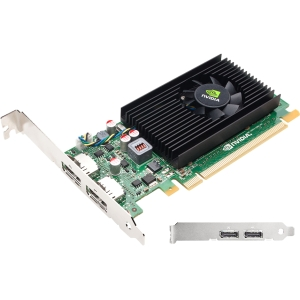 PNY VCNVS310DP-PB Quadro NVS 310 Graphic Card - 512 MB DDR3 SDRAM - PCI Express 2.0 x16 - Full-length/Low-profile - 2560 x 1600 - Fan Cooler - DirectX 11.0, OpenCL, OpenGL 4.1, DirectCompute - DisplayPort