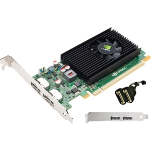 PNY VCNVS310DVI-PB Quadro NVS 310 Graphic Card - 512 MB DDR3 SDRAM - PCI Express 2.0 x16 - Full-length/Low-profile - 2560 x 1600 - Fan Cooler - DirectX 11.0, OpenCL, OpenGL 4.1, DirectCompute - DisplayPort