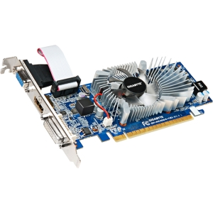 Gigabyte HD Experience GV-N620D3-1GL GeForce GT 620 Graphic Card - 700 MHz Core - 1 GB DDR3 SDRAM - PCI Express 2.0 - Low-profile - 1200 MHz Memory Clock - 2560 x 1600 - DirectX 11.0, OpenGL 4.2 - HDMI - DVI - VGA
