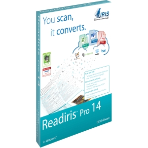 I.R.I.S Readiris v.14.0 Pro - 1 User - OCR Utility - Standard Retail - Electronic - PC - English, German, French, Italian, Portuguese, Russian, Spanish, Dutch, Arabic