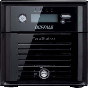 Buffalo TeraStation 5200 High-Performance 2-Drive RAID Business-Class NAS - Intel Atom D2550 1.86 GHz - 8 TB (2 x 4 TB) - RJ-45 Network, USB, USB
