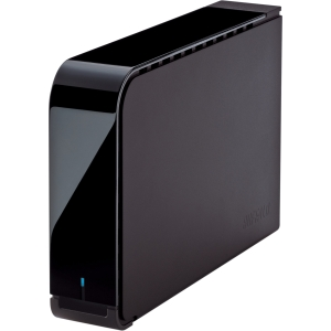 "Buffalo DriveStation Axis HD-LBU3 HD-LB4.0TU3 4 TB 3.5"" External Hard Drive - 1 Pack - Black - USB 3.0 - SATA"
