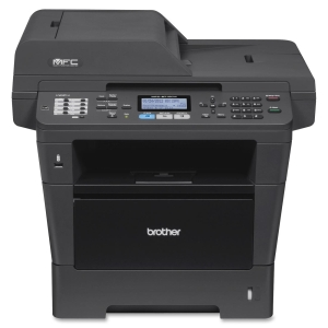 Brother MFC-8710DW Laser Multifunction Printer - Monochrome - Plain Paper Print - Desktop - Printer, Scanner, Copier, Fax - 40 ppm Mono Print - 1200 x 1200 dpi Print - 40 cpm Mono Copy LCD - 1200 dpi Optical Scan - Automatic Duplex Print - 300 sheets Inpu
