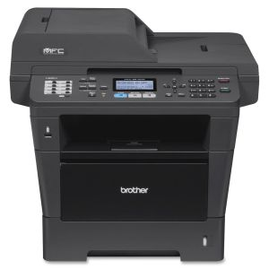 Brother MFC-8910DW Laser Multifunction Printer - Monochrome - Plain Paper Print - Desktop - Printer, Copier, Scanner, Fax - 42 ppm Mono Print - 1200 x 1200 dpi Print - 42 cpm Mono Copy LCD - 1200 dpi Optical Scan - Automatic Duplex Print - 300 sheets Inpu