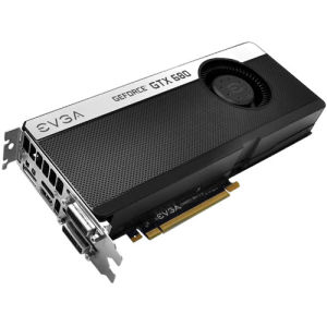 EVGA GeForce GTX 680 Graphic Card - 1084 MHz Core - 2 GB GDDR5 SDRAM - PCI Express 3.0 x16 - 6208 MHz Memory Clock - 2560 x 1600 - SLI - Fan Cooler - DirectCompute 5.0, DirectX 11.0, OpenGL 4.2, OpenCL - HDMI - DisplayPort - DVI
