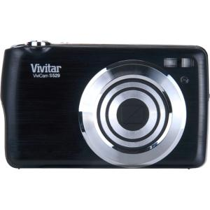 "Vivitar ViviCam S529 16 Megapixel Compact Camera - Purple - 2.7"" LCD - 5x Optical Zoom - Electronic (IS) - 4890 x 3270 Image - 640 x 480 Video - PictBridge"