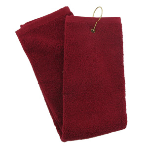 Tri-Fold Golf Towel (Red)