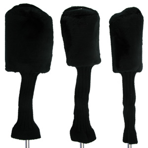 TeeMate Long Neck Acrylic Fur Headcovers - 3 pack