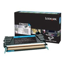 Lexmark Toner Cartridge - Cyan - Laser - 6000 Page - 1 Each