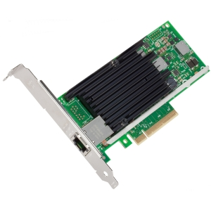 Intel Ethernet Converged Network Adapter X540-T1 - 1 x Network (RJ-45) - Twisted Pair - Full-height, Low-profile - Retail