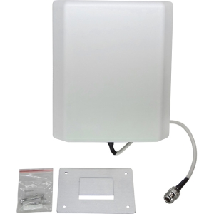 Premiertek Dual Band Panel Antenna - 10 dBi - Cellular Network, Wireless Data Network - Wall Mount