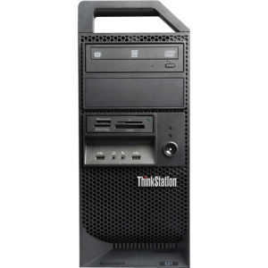 Lenovo ThinkStation E31 255547U Tower Workstation - 1 x Intel Xeon E3-1230V2 3.3GHz - 4 GB RAM - 500 GB HDD - DVD-Writer - NVIDIA Quadro 600 1 GB Graphics - Genuine Windows 7 Professional - DisplayPort