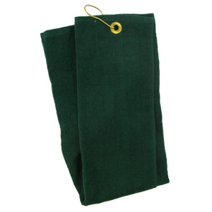 Tri-Fold Golf Towel (Green)