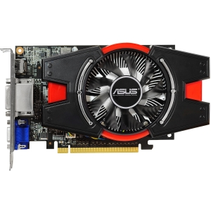 Asus GT640-2GD3 GeForce GT 640 Graphic Card - 901 MHz Core - 2 GB DDR3 SDRAM - PCI Express 3.0 x16 - 1782 MHz Memory Clock - 2560 x 1600 - Fan Cooler - DirectX 11.0, OpenGL 4.2 - HDMI - DVI - VGA