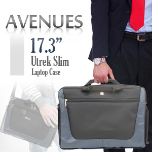 "Avenues 17.3""  Utrek Slim Laptop Case"