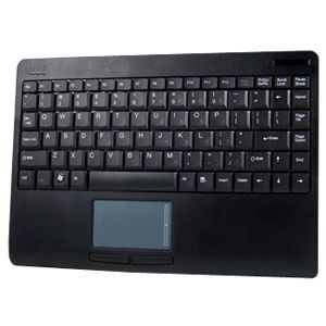 Adesso WKB-4000BB SlimTouch Keyboard - USB - 87 Keys