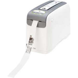 Zebra HC100 Direct Thermal Printer - Monochrome - Desktop - Wristband Print - 2 in/s Mono - 300 dpi - Fast Ethernet - USB