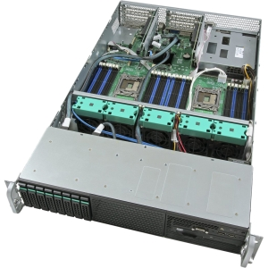 Intel Server System R2308GZ4GC Barebone System - 2U Rack-mountable - Socket R LGA-2011 - 2 x Processor Support - 768 GB Maximum RAM Support - Serial ATA/600 RAID Supported Controller - 8 x Total Expansion Slots - Processor Support (Xeon)