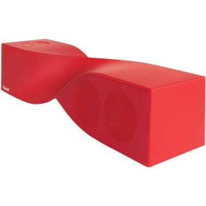 i.Sound i.Sound ISOUND-1693 2.0 Speaker System - 6 W RMS - Wireless Speaker(s) - Red - 30 ft - USB - iPod Supported