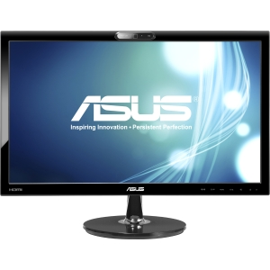 Asus VK228H-CSM 21.5&quot; LED LCD Monitor - 16:9 - 5 ms - Adjustable Display Angle - 1920 x 1080 - 16.7 Million Colors - 250 Nit - 80,000,000:1 - Speakers - DVI - HDMI - VGA - USB - Black - Energy Star, TCO Certified Displays 5.2, ErP, J-Moss (Japanese RoHS),