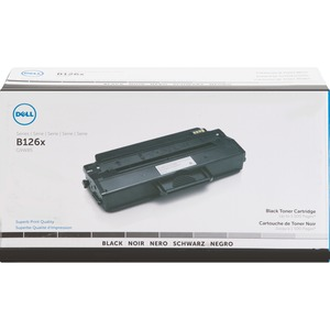 Dell Toner Cartridge - Black - Laser - 1500 Page - 1 Pack