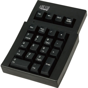 Adesso AKP-220 Numeric Keypad - Cable - USB - 22 Key
