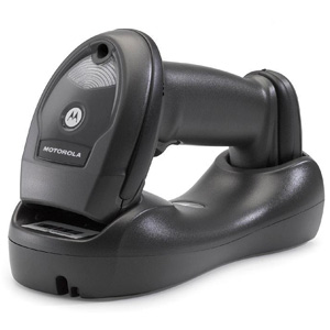 Motorola LI4278 Cordless Linear Scanner - Twilight Black - Wireless - Bluetooth - Imager - LED - 547 scan/s