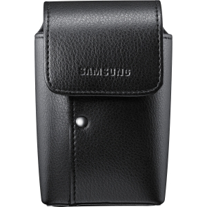 Samsung Carrying Case for Camera - Black - Leather