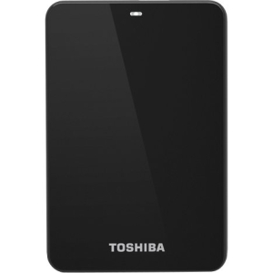 Toshiba Canvio 1.50 TB External Hard Drive - 1 Pack - Black - USB 3.0 - 5400 rpm - 8 MB Buffer
