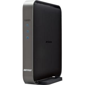 Buffalo AirStation WZR-D1800H Wireless Router - IEEE 802.11ac - ISM Band - UNII Band - 1300 Mbps Wireless Speed - 4 x Network Port - 1 x Broadband Port - USB Desktop, Wall Mountable