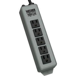Tripp Lite Waber 5 Outlets Power Strip - NEMA 5-15P - 15ft