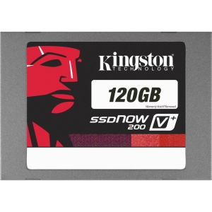 "Kingston SSDNow V+200 120 GB 2.5"" Internal Solid State Drive - 1 Pack - SATA"