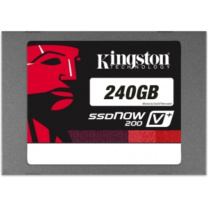 "Kingston SSDNow V+200 240 GB 2.5"" Internal Solid State Drive - 1 Pack - SATA"