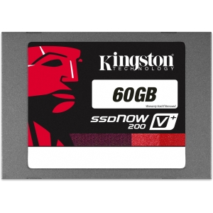 "Kingston SSDNow V+200 60 GB 2.5"" Internal Solid State Drive - 1 Pack - SATA"