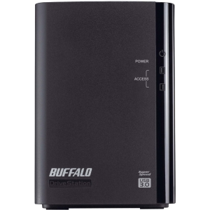 Buffalo DriveStation Duo HD-WL8TU3R1 DAS Array - 2 x HDD Installed - 8 TB Installed HDD Capacity - RAID Supported - 2 x Total Bays - USB 3.0 External