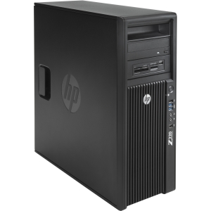 HP Z220 B5P07UT Convertible Mini-tower Workstation - 1 x Intel Xeon E3-1240V2 3.4GHz - 8 GB RAM - 1 TB HDD - DVD-Writer - NVIDIA Quadro 2000 1 GB Graphics - Genuine Windows 7 Professional (English) - DisplayPort