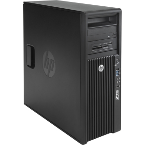 HP Z220 B5P08UT Convertible Mini-tower Workstation - 1 x Intel Xeon E3-1225V2 3.2GHz - 8 GB RAM - 500 GB HDD - DVD-Writer - AMD FirePro V4900 1 GB Graphics - Genuine Windows 7 Professional - DisplayPort