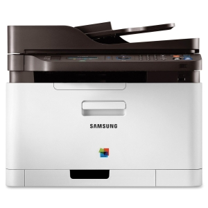 Samsung CLX-3305FW Laser Multifunction Printer - Color - Plain Paper Print - Desktop - Printer, Copier, Scanner, Fax - 18 ppm Mono/4 ppm Color Print - 2400 x 600 dpi Print - 18 cpm Mono/4 cpm Color Copy LCD - 600 dpi Optical Scan - Manual Duplex Print - 1