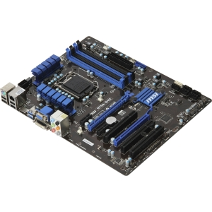 MSI B75A-G43 Desktop Motherboard - Intel B75 Express Chipset - Socket H2 LGA-1155 - ATX - 1 x Processor Support - 32 GB DDR3 SDRAM Maximum RAM - CrossFireX Support - Serial ATA/600, Serial ATA/300 - CPU Dependent Video - 2 x PCIe x16 Slot - 2 x USB 3.0 Po