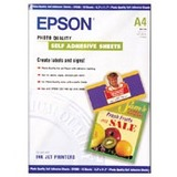 Epson Photo Quality Self-Adhesive Sheets (A4 8.3